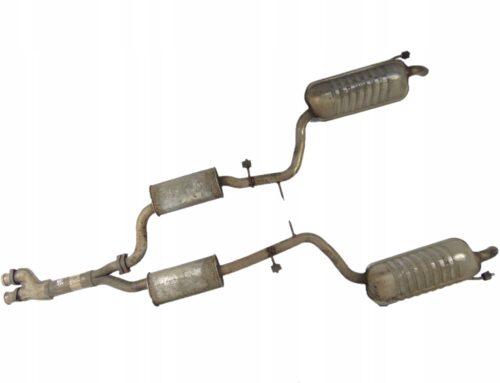 Восстановление, ремонт оригинальных выхлопных систем MERCEDES S КЛАССА
